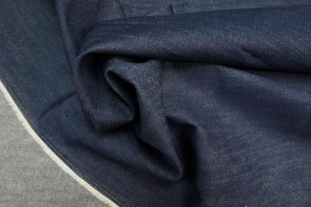 Denim - Rutland - Mid Navy Stretch - per quarter metre